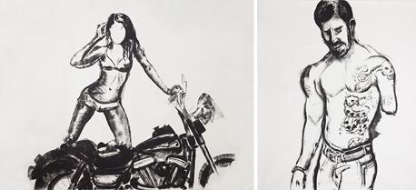 ציורים מהתערוכה