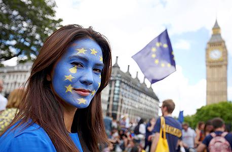 ברקזיט איחוד אירופי לונדון הפגנה, צילום: רויטרס