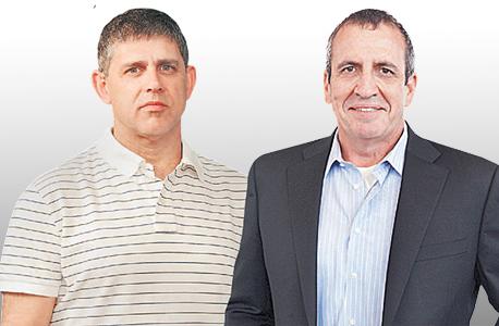 מימין איל וולדמן מנכל מלאנוקס רונן שילה מ מייסדי קונדואיט, צילומים: יובל חן, אוראל כהן