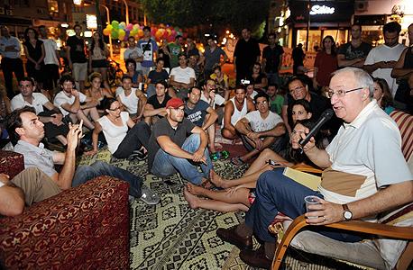 מנואל טרכטנברג פרופסור צדק חברתי בעקבות מחאת ה אוהלים, צילום: יובל חן