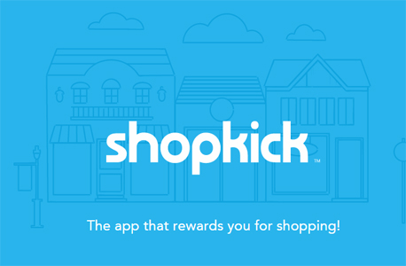 Shopkick אפליקציה קניות ברשת, צילום מסך