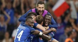 נבחרת צרפת חוגגת יורו 2016, צילום: איי אף פי