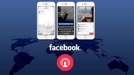 פייסבוק לייב בשירות הימין הקיצוני