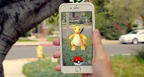 משחק פוקימון גו מציאות מדומה נינטנדו גוגל, צילום: pokemon go