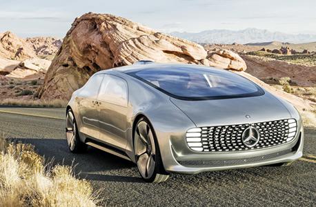 המכונית העתידנית של מרצדס