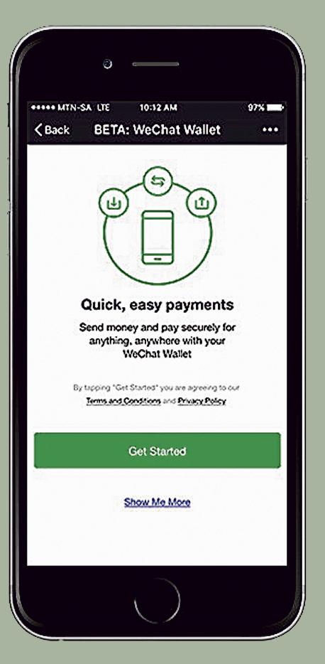 wechat אפליקציה תשלום