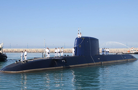 An Israeli submarine. Photo: Elad Gershgoren