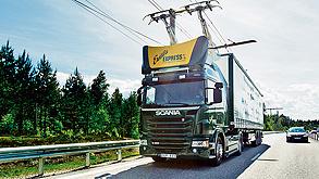 כביש חשמלי בשבדיה, צילום: Tobias Ohls