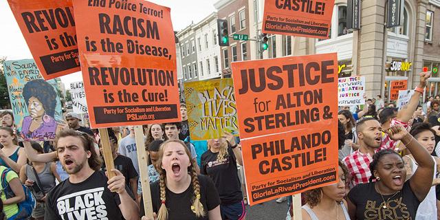 הפגנה של Black Lives Matter, צילום: איי אף פי