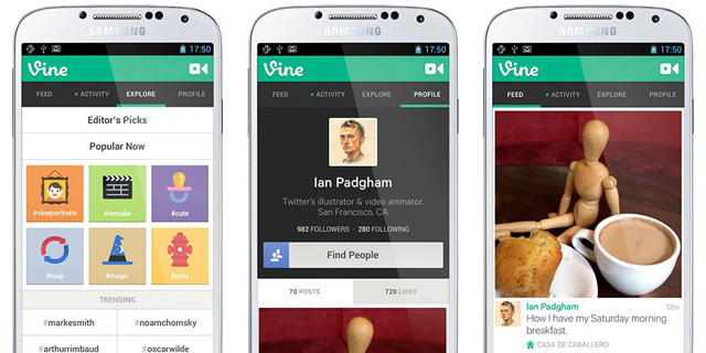 אפליקציית Vine גוססת לאיטה
