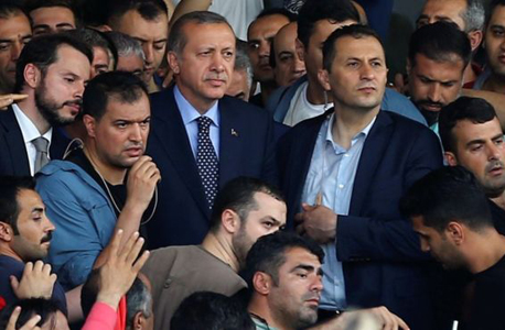 טורקיה נסיון הפיכה ארדואן