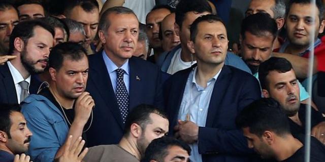 הנשיא ארדואן בשדה התעופה באיסטנבול