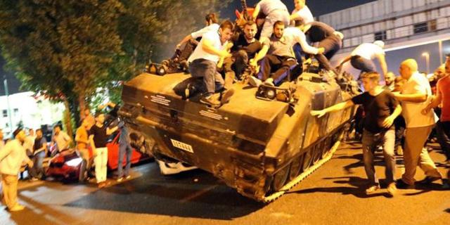 נסיון הפיכה בטורקיה