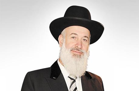 הרב יונה מצגר, צילום: Yoni Reif