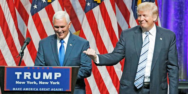 טראמפ בחר במושל אינדיאנה לסגנו