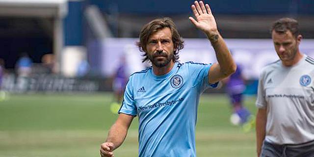 אנדראה פירלו - מוכר החולצות המצטיין ב-MLS