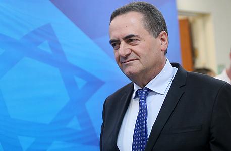 ישראל כץ שר התחבורה