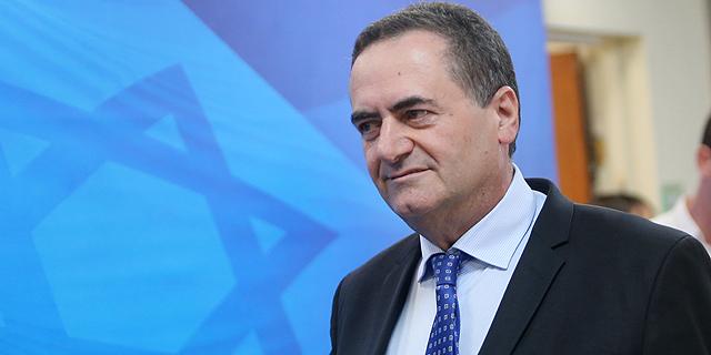 שר התחבורה ישראל כץ, צילום: אלכס קולומויסקי