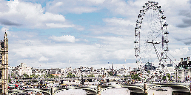 הגלגל הענק של לונדון, צילום: ינאי אלפסי