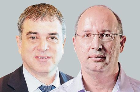 מימין אבי ניסנקורן ו שלמה פילבר, צילומים יובל חן ואוראל כהן