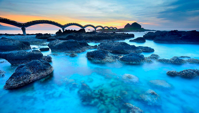 החוף בטייוואן, צילום: גטי אימג