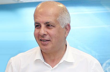 אבי לוזון חבר הנהלת מכבי פתח תקווה לשעבר יור ההתאחדות לכדורגל, צילום: אורן אהרוני