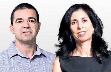 """מימין המפקחת על הביטוח דורית סלינגר ומנכ""""ל משרד הכלכלה עמית לנג, צילום: אוראל כהן, עמית שעל"""