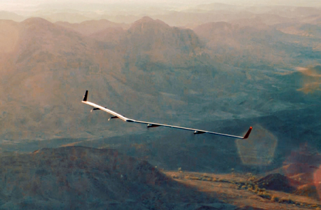 מטוס סולרי ללא טייס אקילה פייסבוק, צילום: פייסבוק