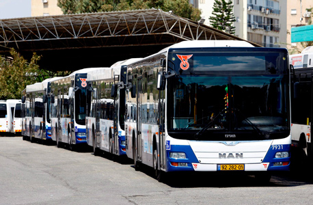 אוטובוסים של דן, צילום: נמרוד גליקמן