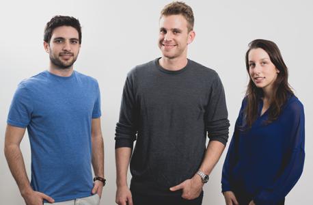 מייסדי Engie. מימין: גל אהרון, ירדן גרוס ואלון הנדלמן
