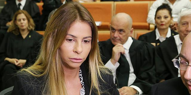 ענבל אור בבית המשפט, צילום: צביקה טישלר