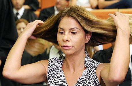 ענבל אור באחד הדיונים בבית המשפט, צילום: צביקה טישלר