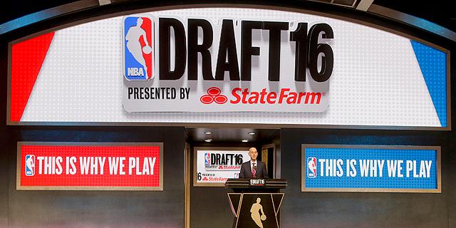 דראפט ה־NBA. לא צריך להצליח במכללות כדי להצליח ב-NBA, צילום: איי פי