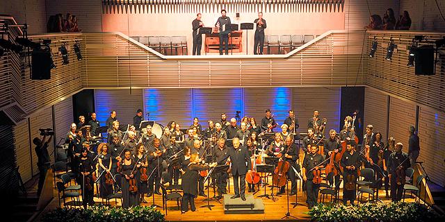 הקונצרט במלון אלמא, צילום: טל גליק