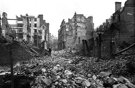 לונדון בעיצומו של הבליץ 1941, צילום: גטי אימג