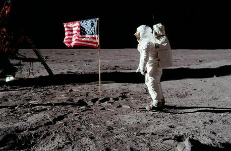 באז אולדרין על הירח. בדידות יוצאת דופן, צילום: ויקיפדיה