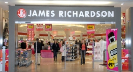 חנות דיוטי פרי ג'יימס ריצ'רדסון ב שדה ה תעופה בן גוריון, צילום: סיון פרג'