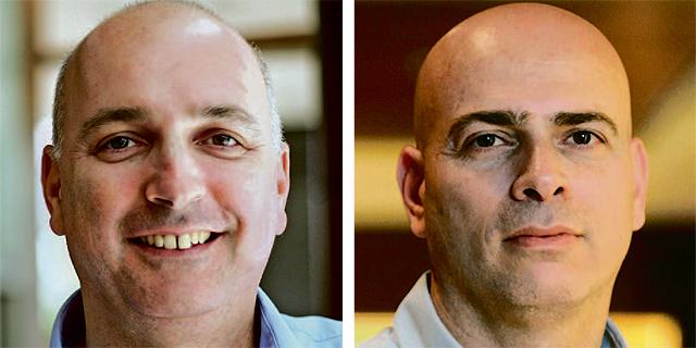 """מימין: מנכ""""ל הלמן־אלדובי רמי דרור ומנכ""""ל מיטב דש אילן רביב, צילומים: עמית שעל, תומי הרפז"""