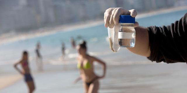 ערב פתיחת האולימפיאדה: המים בריו מזוהמים במיוחד