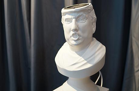 רמקול בצורת טראמפ, צילום: pocket-lint.com
