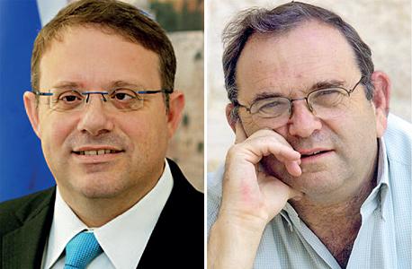 מימין: אברהם דובדבני ויעקב חגואל, צילום: ההסתדרות הציונית העולמית, ששון תירם
