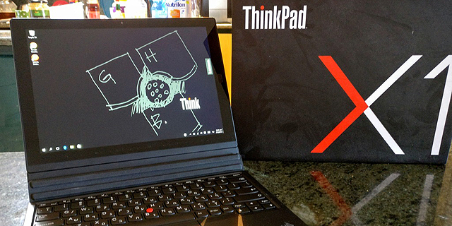 לנובו ThinkPad X1 Tablet: הטאבלט לאדם העובד