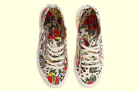 נעליים סופרגה סניקרס, צילום: אבי ולדמן