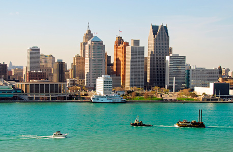 Detroit, Michigan. Photo: Shutterstock