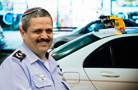 רוני אלשיך מונית של Gett, צילומים: אלכס קולומויסקי, רונן בוידק