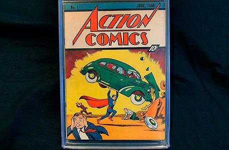 מודיעין חוברת קומיקס בת 78 שנה נמכרה בכמעט מיליון דולר OG-19