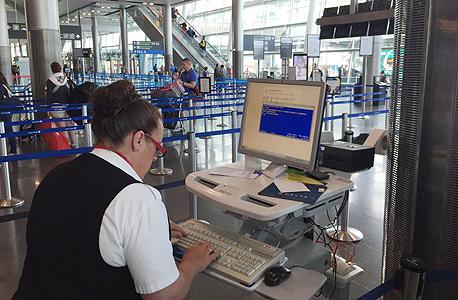 קריסת מחשבים של חברת התעופה דלתא, צילום: twitter.com