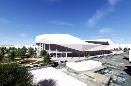 הדמיית אצטדיון בלומפילד המחודש