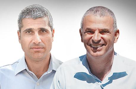 מימין משה כחלון ו אמיר לוי, צילום: אוראל כהן, אבי רוקח