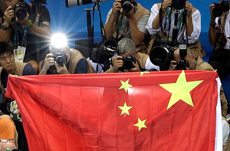 דגל סין אולימפיאדה ריו, צילום: איי פי